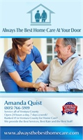 Always The Best Home Care At Your Door