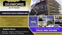 Dumore Construction & Remodeling