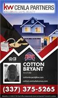 Keller Williams Cenla Partners - Cotton Bryant